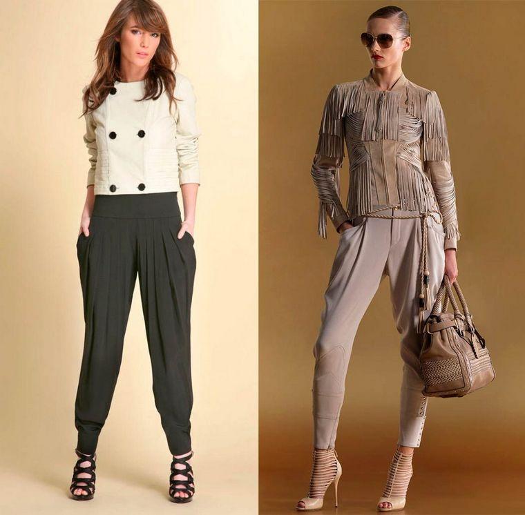 Модные брюки сезона осень-зима 2014-2015 года